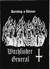 WITCHFINDER GENERAL BACKPATCH / SPEED-THRASH-BLACK-DEATH METAL
