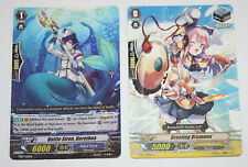 The Cardfight Vanguard TCG/CCG A Pair Of Common Cards