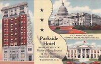 Postcard Parkside Hotel Washington D.C.