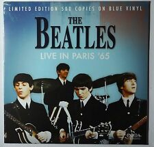 THE BEATLES LIVE IN PARIS '65 - BLUE COLORED VINYL LP  - LIMITED EDITION IMPORT