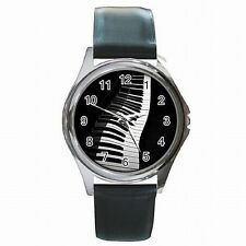 Piano Keys Pianist Musician Music Leather Watch New!