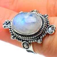 Rainbow Moonstone 925 Sterling Silver Ring Size 6 Ana Co Jewelry R32823F