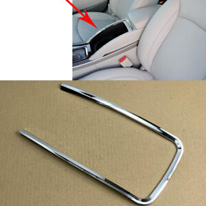 1x For Buick LaCrosse 2009-2013 Car Front Center Armrest Box ABS Silver Frame
