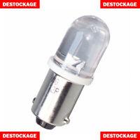 2 AMPOULES LED T11 BA9S PUISSANT 1 SMD BLANC PUR AMPOULE EFFET XENON FEU PHARE