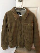 Billabong  Jacket/Coat Sherpa Lined Brown Mens Size Medium