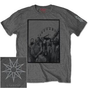Slipknot Amusement Park Grey Shirt S-XXL Official Heavy Metal Band T-Shirt Merch