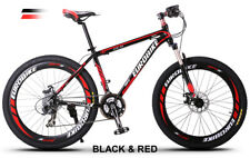 Brand New Cyber  EURO Black&Red Color 26 inch 21 SP Shimano Mountain bike