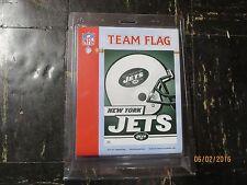 New listing New York Jets 3' x 5' Team Helmet Field Flag Reduced For Autumn