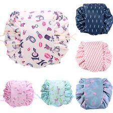 Unicorn Print Cosmetic Drawstring Bag Magic Cosmetic Pouch Travel Storage Bags
