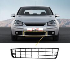 Vw Golf Mk5 2004-2008 Front Centre Lower Bumper Grille Mat Black Two Bars New