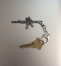 Keychain M4 / AR-15 Rifle with scope - Metal Gun Key Chain