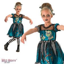 Girls Halloween Frankie Girl Costume Child Frankenstein