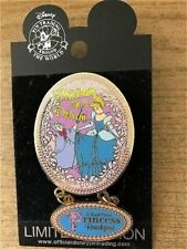 Old Htf Disney pin Ap Dining Royal Princess Breakfast Cinderella Fairy Godmother