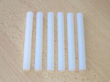 12 Klebestifte 11x100mm f. Heißklebepistole Schmelzkleber Klebestick transparent