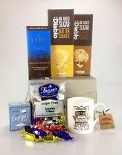 DAD Themed Sugar Free DIABETIC FOOD Hamper Chocolate Sweets Birthday Christmas