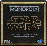 Hasbro Gaming - Monopoly Star Wars Saga [New ] Table Top Game, Board G