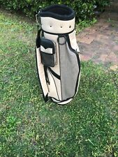 MacGregor Tan Canvas Cart Bag Golf Bag