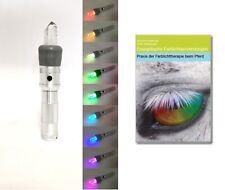 Mobiles Bergkristall Farblichtsystem für Tiere - Farblampe Farblichttherapie NEU