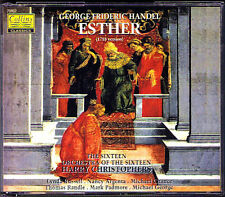 HANDEL: ESTHER 1718 Argenta Padmore Chance The Sixteen Harry Christophers 2CD