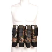 Camo Paintball Pod Weste Camouflage Battlepack inkl 4x Pod