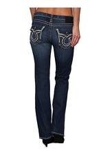 Nuevo con etiquetas para mujer Big Star Buckle Jeans Bota de baja altura y Remy
