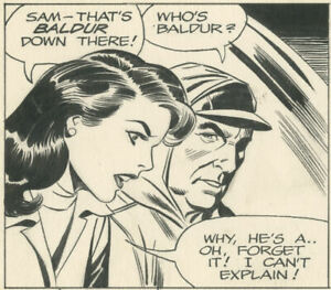 Dan Barry - Flash Gordon daily, 1986-08-07, NO RESERVE!