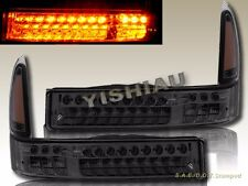00-04 Ford Excursion / 99-04 Super Duty 250/350 Smoke LED Front Bumper Lights