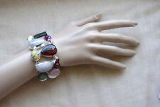 "HANDMADEMulti Gemstone Bracelet - Original,Beautiful, Great Gift,7-8"""