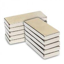 10pcs 9/16 di lunghezza x larghezza 1/4 x 1/8 spessore TERRE RARE magnete al neodimio Block