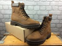 TIMBERLAND MENS UK 9 EU 43.5 COURMA GUY BROWN LEATHER BOOTS RRP £170 C