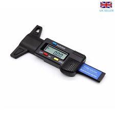 Digital Electronic 0-25mm LCD Depth Gauge Tyre Tread Micrometer Measurement