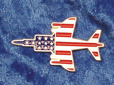 Empire Pewter Harrier Stars & Stripes Flag Pewter Pin