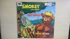 "RARE RCA Victor Bluebird Children's Records SMOKEY THE BEAR 10"" 78 RPM 50s"