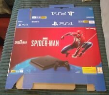 Boite vide console PS4 PlayStation 4  SPIDERMAN - SPIDER-MAN - Marvel - neuf