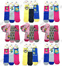 Mothers Day Gift Girls/Ladies Novelty Minion Despicable Me Character Socks UK4-8