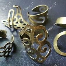 5pcs vintage bronze&alloy rings Wholesale Fashion mixed lots new free shipping