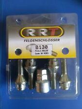 1Satz Felgenschlösser Radsicherungsschrauben M12x1,5 30mm Felgenschloß Kegelbund