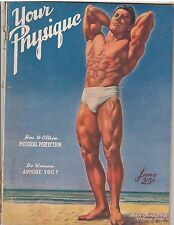 YOUR PHYSIQUE bodybuilding muscle fitness magazine/John Farbotnik 6-47