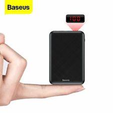 Baseus 10000mAh Power Bank USB Type C PD Fast Charger Phone External Battery US