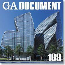 GA Document 109: Gehry Morphosis SANAA Ando Kuma architecture