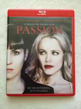 Passion (Blu-ray, 2013, Red Case) Rachel McAdams, Noomi Rapace *FREE Shipping*