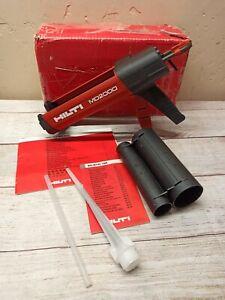 Hilti MD 2000 Manual Anchor Adhesive Dispenser Epoxy Gun - Great Condition !!
