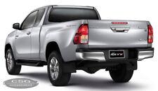 Toyota HILUX REVO 2015+ Chrome Rear Bumper Nudge Step Bar w/ brackets