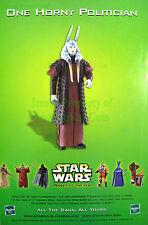 Mas Amedda - 1 Horny Politician - Star Wars Hasbro Great Original Photo Print Ad