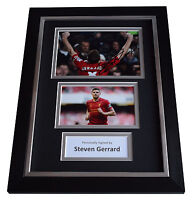 Steven Gerrard Liverpool Signed Football Boot In An Acrylic Dome Presentation B
