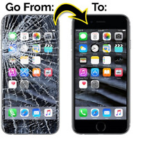 Apple iPhone 8 Cracked Screen digitizer & lcd Repair replacement Service