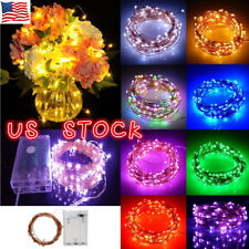 Battery Operated Led Christmas Lights for sale   eBay