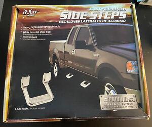 Bully Side Step, Aluminum, Pair AS600