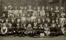 Claughton near Preston. Higher Grade III School Group.