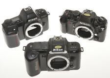 Nikon lot of 3 reflex: N2020 (F-501), N4004 (F-401), F-601M, sold as is